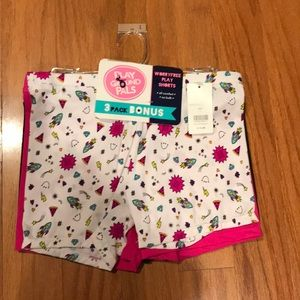 Other - 3 pack play shorts brand new, size 10/12.